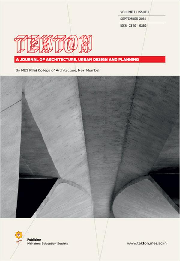 Tekton-Volume-1-Issue-1_Sept-2014